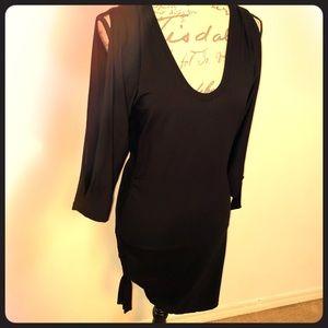 Cache Open Arm Gathering Dress